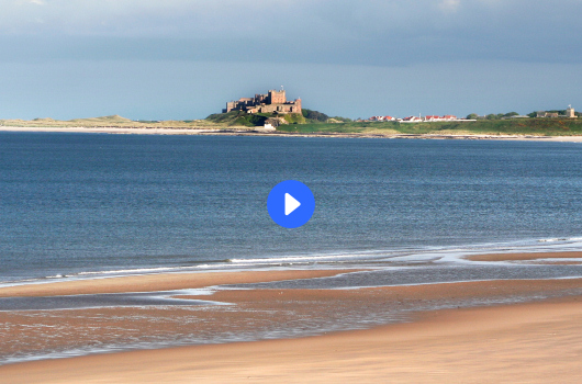 Click 'play' to view a video of our Northumberland location ...
