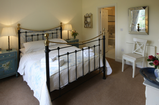 Double Bedroom, Beacons Cottage, Outchester & Ross Farm Cottages, Northumberland