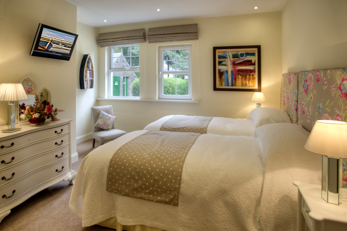 Master Bedroom, Beacons Cottage, Outchester & Ross Farm Cottages, Northumberland