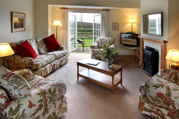Sitting Room, Curlew Cottage, Northumberland