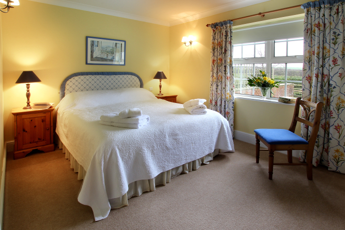 Double Bedroom, Dovecot Cottage, Northumberland