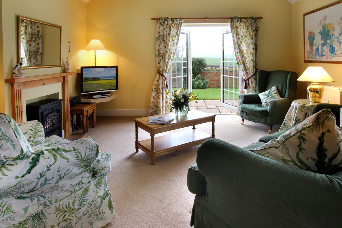 Sitting Room, Dovecot Cottage, Northumberland