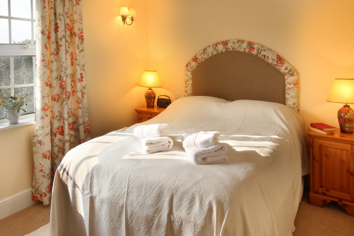 Double Bedroom, Kittiwake Cottage, Northumberland