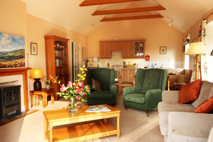 Sitting Room, Kittiwake Cottage, Northumberland