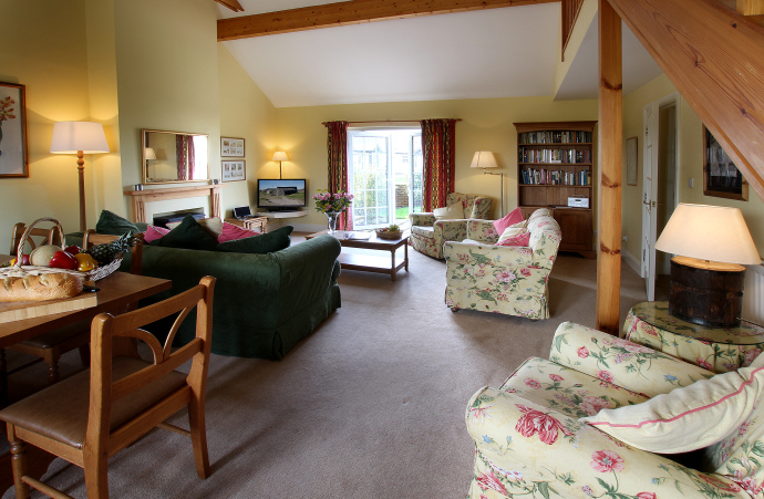 Sitting Room, Oystershell Cottage, Northumberland