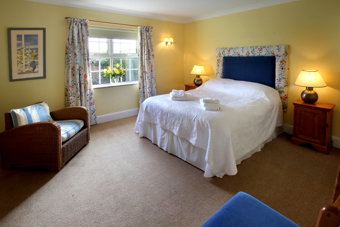 Double Bedroom, Puffin Cottage, Northumberland