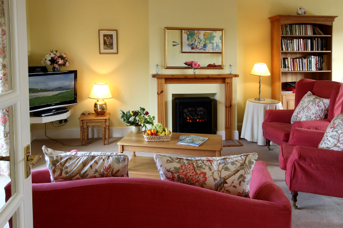 Sitting Room, Puffin Cottage, Northumberland
