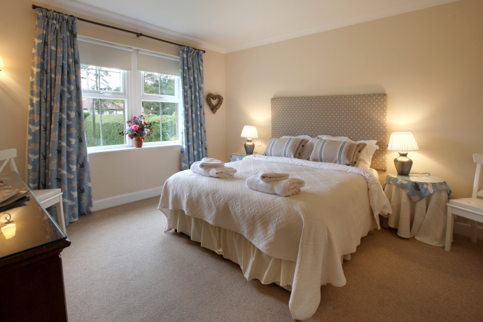 Double Bedroom, Sandpiper Cottage, Northumberland