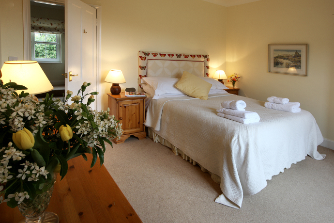 Double Bedroom, Skylark Cottage, Northumberland