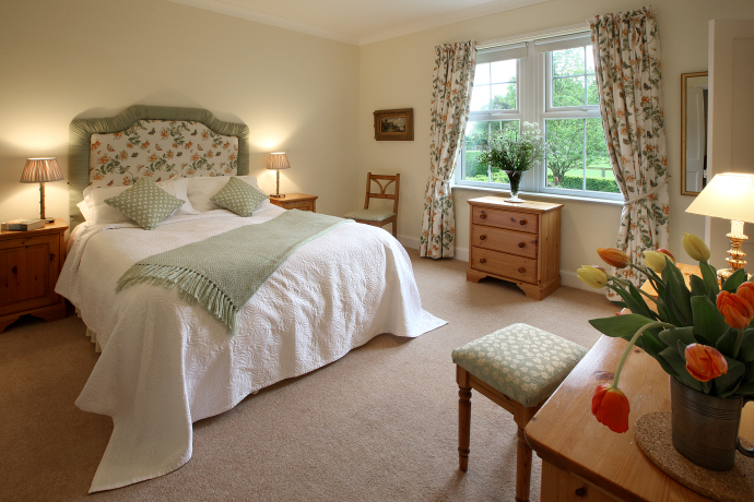 Double Bedroom, Wagtail Cottage, Northumberland
